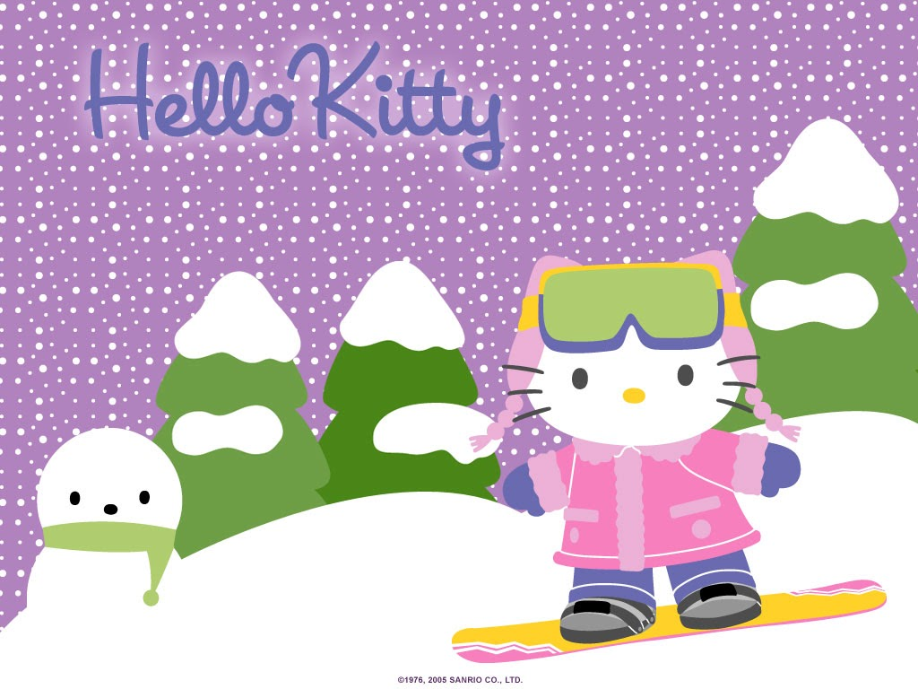 Good Wallpaper Hello Kitty Purple - hello-kitty-ski-wallpaper  Perfect Image Reference_605966.jpg